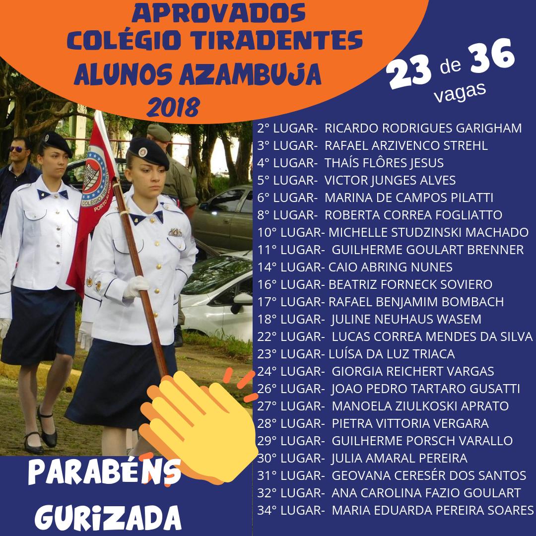 Aprovados Colégio Tiradentes!ALUNOS AZAMBUJA2018.png
