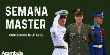 SEMANA MASTER - CONCURSOS MILITARES - ESA - EsPCEx - AFA - EEAR