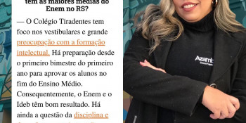 Maiores Médias no ENEM RS