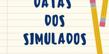 Datas dos Simulados