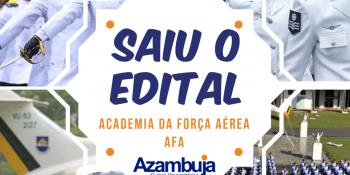 SAIU O EDITAL - AFA
